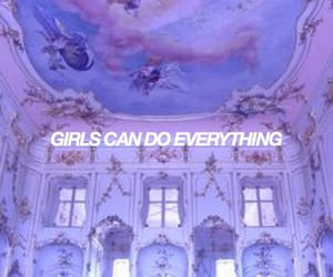 aesthetic, girl power, and purple image