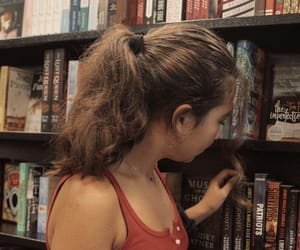 aesthetic, artsy, and books image