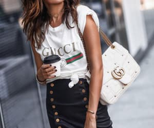 bag, outfits, and black image