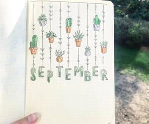 September, bujo, and bullet journal image