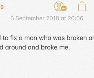 ex, ex boyfriend, and hurt image