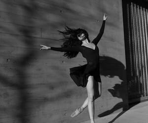 black and white, dance, and girly image