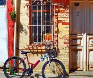 bike, cities, and istanbul image