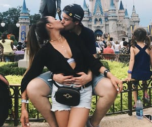 couples, disney, and fashion image
