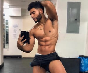abs, fine, and guys image