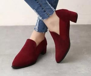 burgundy, casual, and shoes image