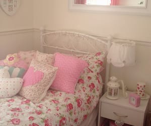girly, ikea, and room interior image