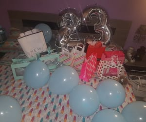 23, balloons, and gifts image