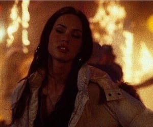 megan fox, fire, and celebrity image