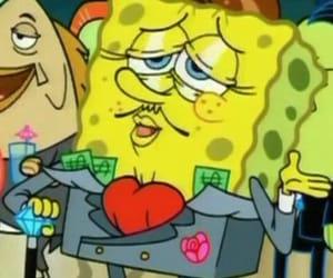 money, rich, and sponge image