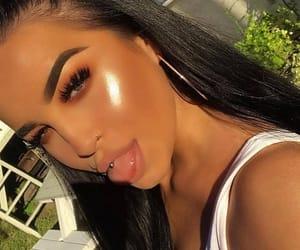 beauty, makeup, and girls image