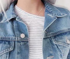 style, denim, and fashion image