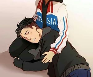 anime, cute, and yuri on ice image