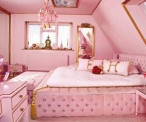baby pink, house, and princess image