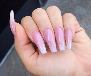 nails, pink, and nails goals image