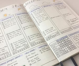 planner, journal, and study image