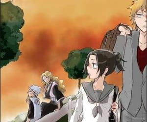 karin, toshiro hitsugaya, and kurosaki ichigo image