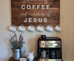 coffee, jesus, and quotes image