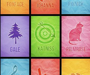the hunger games, johanna, and primrose image