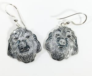 etsy, silver, and glass enamel image