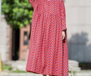 etsy, women clothing, and cotton dresses image