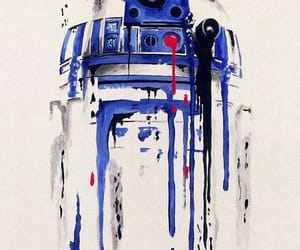 art, r2d2, and star wars image