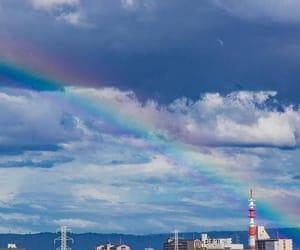 rainbow and instagram image