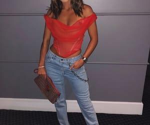 fashion, jeans, and moda image