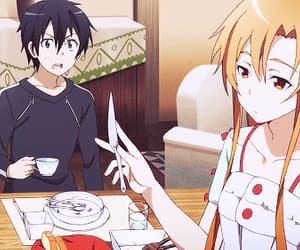 anime, gifs, and sword art online image