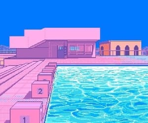 pixel, pink, and aesthetic image