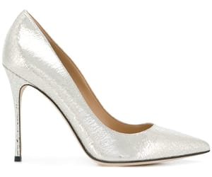 pump, shoes, and silver image