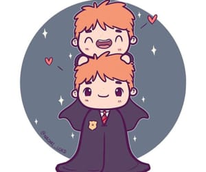 art, draw, and fred weasley image