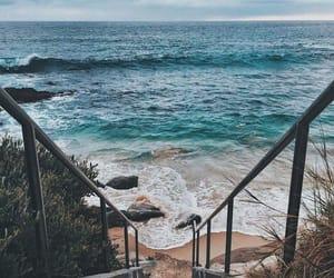 beautiful, blue, and california image