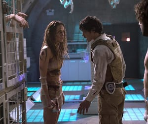 bellamy, the 100 season 2, and the 100 image