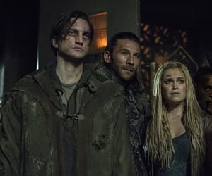the 100, john murphy, and clarke griffin image