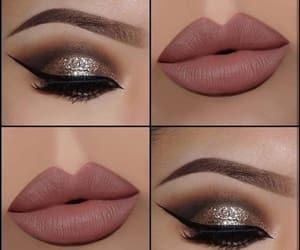 eyeshadow, lips, and lipstick image