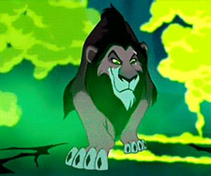 disney, scar, and the lion king image
