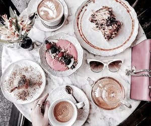 food, coffee, and luxury image