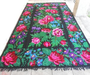 eco-friendly, floral carpet, and ukrainian image