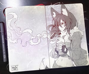 fox and girl image