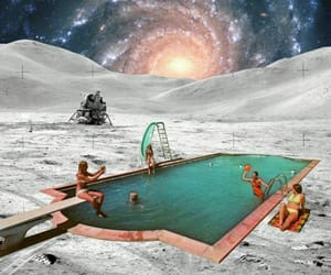 alternative, Collage, and galaxy image