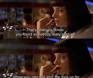 pulp fiction, quotes, and silence image