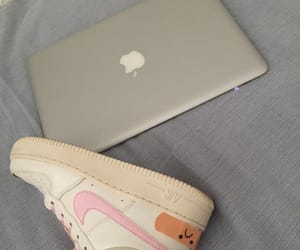 aesthetic, apple, and macbook air image