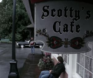 cafe, dean winchester, and impala image