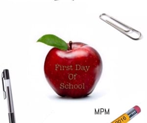 school, September, and first day of school image
