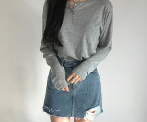 kfashion, asian, and clothes image