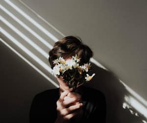 flowers, aesthetic, and boy image