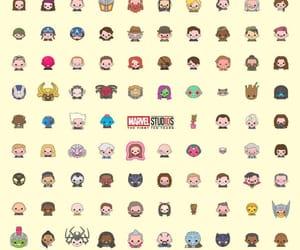 Marvel and emojis image