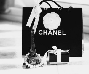 chanel, beauty, and black and white image