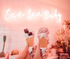 aesthetics, cold, and icecream image